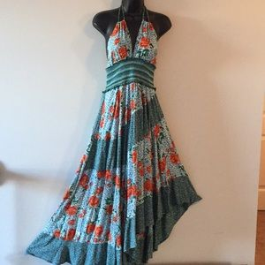 Boho halter dress by Free People